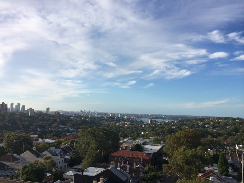 The view from Bondi Junction FF